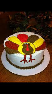 Thanksgiving Cake Decorating Ideas Turkey Cake My Personal Cakes Cookies Pinterest Turkey Cake