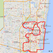 map of ft lauderdale fort lauderdale hates the homeless part 1