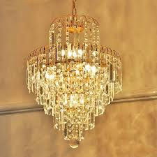 Chandelier Lights Uk by Luxury Royal Golden Glass K9 Chandeliers Golden Chandelier Lustre