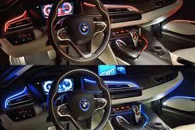 bmw blue interior bmw i8 sustainable and interior design