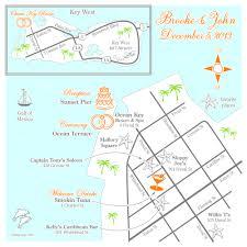 Map Key West Fun Wedding Maps U2014 Custom Map Design By Snappymap
