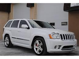 white jeep grand cherokee 2009 jeep grand cherokee srt8