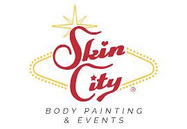 halloween city corporate body painting las vegas events party planning skin city