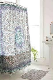 Plum And Bow Curtains Shower Curtains Plum Bow Tiled Medallion Shower Curtain