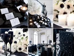 black and white wedding decorations black white wedding reception decorations wedding corners