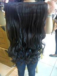 hairclip grosir on hair clip big layer panjang 60 70 cm