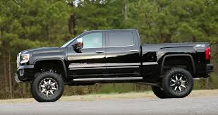 lifted corvette go over anything lifted 2015 gmc denali 2500hd is all business