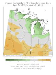Illinois State University Map by Hydroclim Minnesota For Early May 2016 Minnesota Dnr