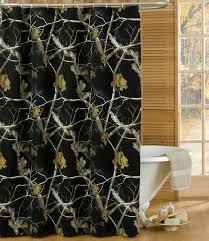 rustic shower curtains moose bear u0026 pinecone designs