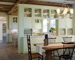 Cottage Dining Room Ideas Cottage Dining Room With Built In Bookshelf By Lali Maurno