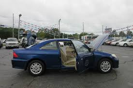 2004 honda civic lx 2dr coupe 85 used vehicles in stock u003e www