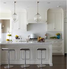 Transitional White Kitchen - transitional kitchen by lauren muse