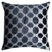 Uncategorized Black Decorative Pillows For Lovely Black Throw