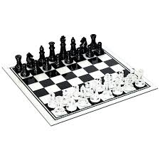 amazon com black and clear glass chess set toys u0026 games