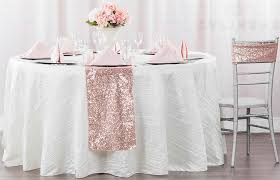 dusty rose table runner excellent table cloth 120 blush glitz sequin round linens and events