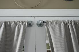 hanging french door curtain rods rooms decor and ideas curtain rods for french doors