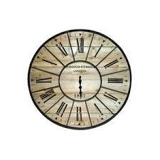 Grande Horloge Murale Carrée En Bois Vintage Achat Horloges Murales Et Pendule Murale à Prix Réduits La Foir Fouille