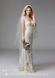 two color wedding dress from wtoo bridal fall 2016 gowns are gorgeous on trend