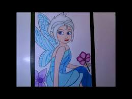 draw periwinkle tinker bell movie speed drawing