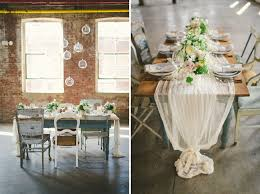 fabric for table runners wedding neutral wedding inspiration in a glass factory