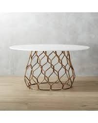 cb2 round dining table sale circuit dining table by cb2