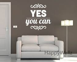 wall decal custom made wall decals ideas custom removable wall custom made wall decals yes you can motivational quote wall sticker diy decorative inspirational quotes office