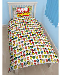 Marvel Bedding Marvel Comics Justice Single Panel Duvet Cover Set Bedroom