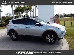 toyota rav4 2017 used toyota rav4 xle fwd at royal palm toyota serving