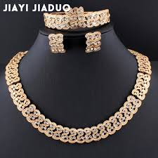 gold jewelry necklace sets images Jiayijiaduo gold color african pearl wedding jewelry dubai gold jpg