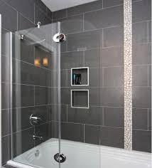 Pinterest Bathroom Shower Ideas Colors Dark Gray Tile Is The Way To Go For A Contemporary And Unique