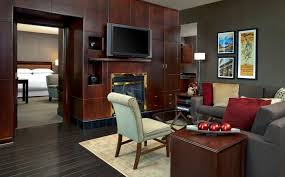 livingroom calgary presidential suite sheraton suites calgary eau hotel