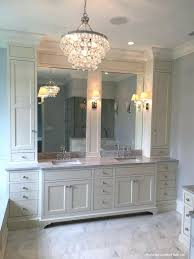 elegant bathroom chandeliers ideas or medium size of crystal