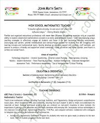 26 best teacher resumes free u0026 premium templates
