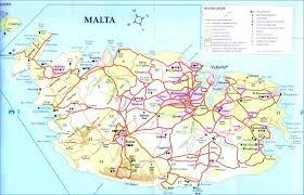 Plano Map Map Of Malta Destinationmalta Com