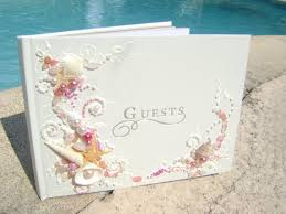 Wedding Wishes Envelope Guest Book Kayla Wright Gorgeous Beach Wedding Guest Book Hand Decorated
