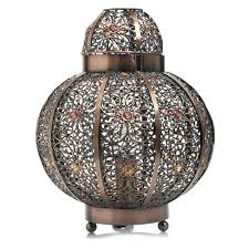 table lamps wilko global plated lamp bronze moroccan table ebay