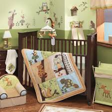 Enchanted Convertible Crib Lambs Beige Enchanted Forest Crib Bedding Collection