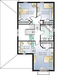 4 bedroom open floor plans house plan w3407 detail from drummondhouseplans com