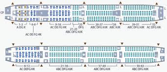 boeing 777 300er sieges seat map garuda indonesia