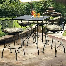 White Cast Iron Patio Furniture Patio Ideas Image Of Perfect Wrought Iron Patio Table White
