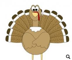 thanksgiving song worksheet except for the turkey with