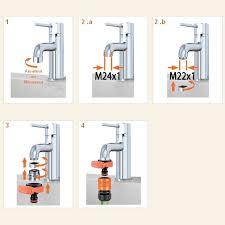 raccord tuyau robinet cuisine adaptateur mitigeur ou robinet pour raccord rapide arrosage