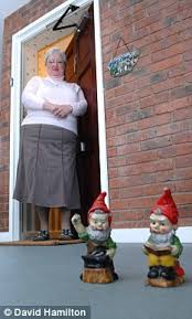 Gnome Doormat Elf And Safety Police Ban Homeowner U0027s 6 Inch Garden Gnomes Daily