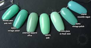trend i want to try mint green nail polish u2013 emsies