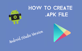 create apk how to create apk file for distribution