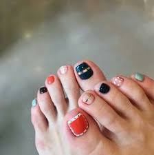black and white whale design 17 cute toe nail designs you u0027ll