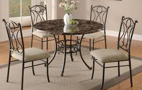 dining table with metal chairs round metal dining table formidable excellent inspiration to 20