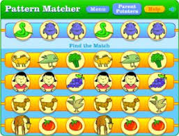 pattern games kindergarten smartboard online shape pattern matching game smartboard pinterest