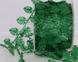 leaf ribbon view ribbon by thepapersandbox on etsy
