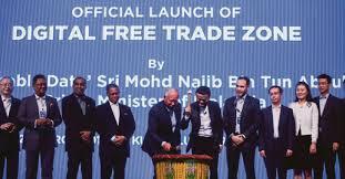 alibaba group itu apa najib razak and jack ma launch digital free trade zone in malaysia